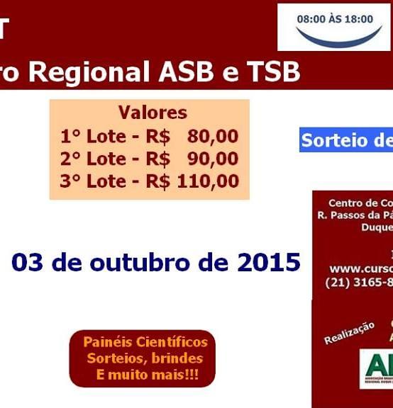 4º ENRAT ENCONTRO REGIONAL ASB E TSB