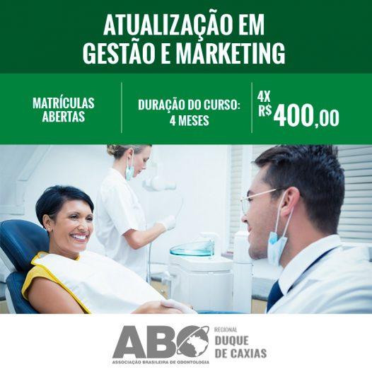 ATUALIZAÇÃO EM GESTÃO E MARKETING