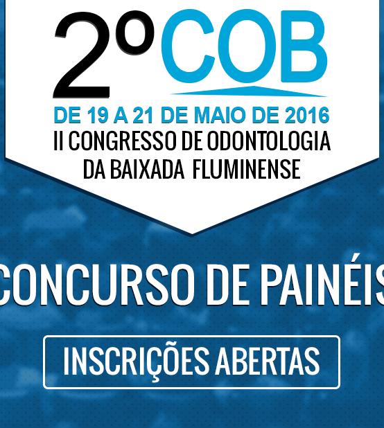 2° COB: Concurso de Painéis Científicos – Inscrições abertas