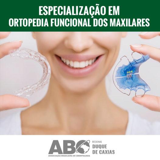 ESPECIALIZAÇÃO EM ORTOPEDIA FUNCIONAL DOS MAXILARES